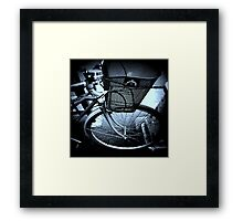I'm Leaving You for the Last Time. Framed Print