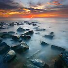 Red Dawn Takisung Beach by Aulia  Rahman