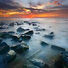 Red Dawn Takisung Beach by Aulia  Rahman