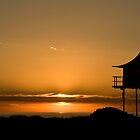 Sunset at Semaphore Beach, South Australia by tarsia