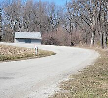 Curvy country road by mltrue