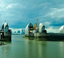 Thames Barrier  by John Hare