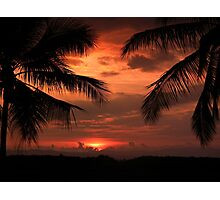 A Perfect Evening Photographic Print