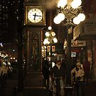 The Gastown Clock by Wendi Donaldson