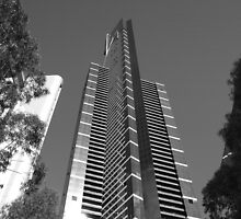 Eureka Tower -Elevation by Ben Loveday