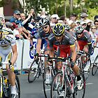 Lance Armstrong and Team Radio Shack by Mark Prior
