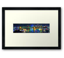 Sydney Fantasia - The HDR Experience Framed Print