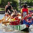 Dragon Boat Race Plate # 0107 by Matsumoto