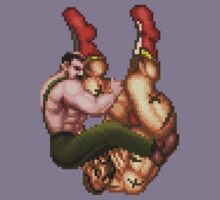 Haggar Vs Zangief by Greg Little