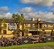 Durty Nellys Irish Pub, Famous Landmark in County Clare, Ireland. by upthebanner