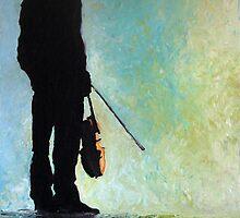 Violinist Yuriy Bashmet by Yuriy Shevchuk