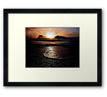 THE TROPICAL ALURE Framed Print