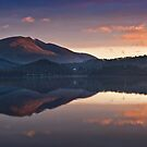 First light on Blencathra summit by Shaun Whiteman