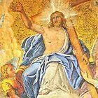Jesus Christ enthroned by neil harrison