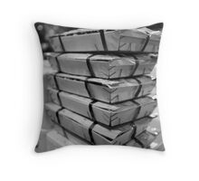Razorclams At The Mercabarna Throw Pillow