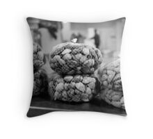 All Clammed Up Throw Pillow