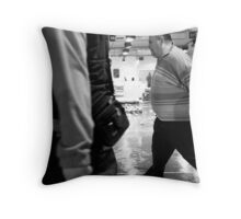 Fish On The Move Throw Pillow