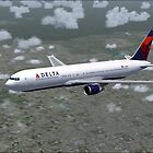 Delta Air Lines Boeing 767-300 by Hernan W. Anibarro