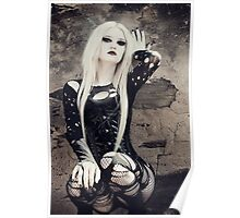 Gothic Pose Poster