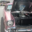 Pink 1957 Chevy by Melissa Park