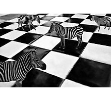 The Chessboard Photographic Print