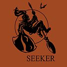 Seeker Print by Karen  Hallion