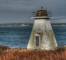 Sambro Harbour Lighthouse by Roxane Bay
