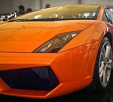 Lamborghini Gallardo in Orange by Sean Farrow