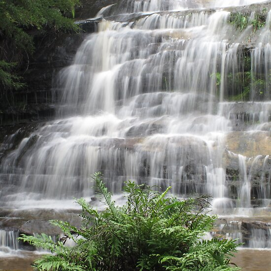 Katoomba Cascades by Michael John