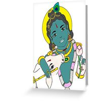 Muralimanohara in color Greeting Card