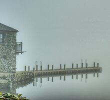 The Windermere Boathouse And The Hanging Jetty.. by VoluntaryRanger