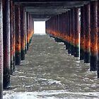 Under Southwold Pier by GreenPeak