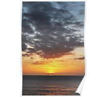 sunset in Lanzarote II Poster