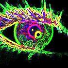 crazy electric eye by zoena