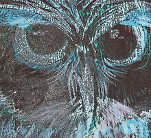 Woodcut: Owl by Marion Chapman