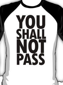 You Shall Not Pass- Gandalf T-Shirt