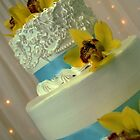 Baby Blue Wedding Cake by rocperk