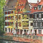 Strasbourg Canal Houses by Dai Wynn