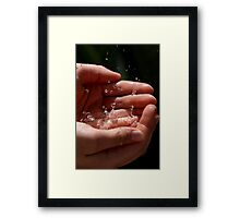 The Future is in Your Hands 9076 Framed Print