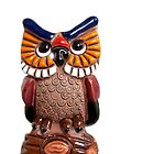Small ceramic owl isolated by IKGM