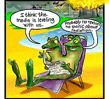 The Frogs Of Japan's Fukushima Dai-ich Reactor by Rick  London