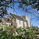 Church of St.Nicholas, Bramber, West Sussex by dgbimages