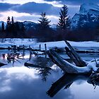 A chill is in the air - Banff AB Canada by camfischer
