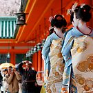 Spring Festival at Heian Shrine by nekineko