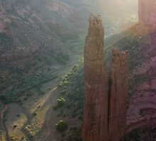 Spider Rock at Sunrise by genez