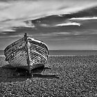 Beached in B&amp;W by Geoff Carpenter