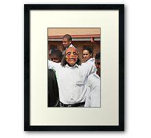 Monster kid in Eersterust Framed Print