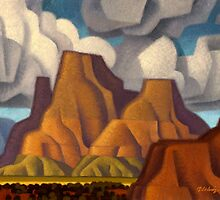 Tug Boat Butte by Rob Colvin