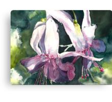 Ballet of the Fuschia Canvas Print