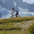 mountain biker by neil harrison